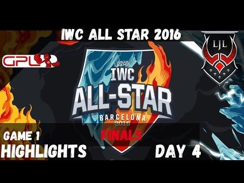 🔥 GPL vs LJL ️❄️ Game 1 Highlights   IWC All Star Barcelona 2016 D4   SouthEast Asia vs Japan