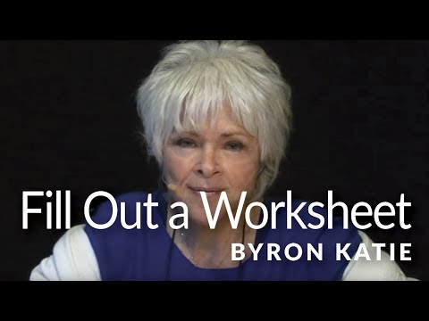 Worksheet Byron Katie Worksheets tools to do the work watch video on how fill in a judge your neighbor worksheet
