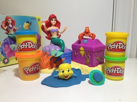 little mermaid - Ariel and the Little Mermaid rank with Bell and Beauty and the Beast as my daughter's all-time favorites. The Little Mermaid Hidden treasure play set allows ...