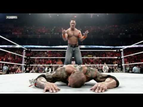 Extreme Rules 2009: John Cena Battles Batista In A Last Man Standing Match