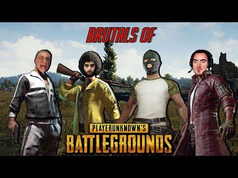 Brutals of PUBG [ArtGames, BlackSilverUfa, JackShepard, PomodorkaZR]
