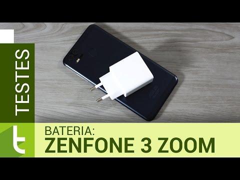 Autonomia do Asus Zenfone 3 Zoom  Teste oficial de bateria do TudoCelular