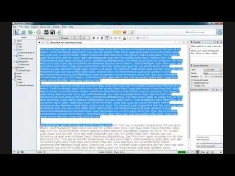 Scrivener-Einführung - Jetzt erst recht