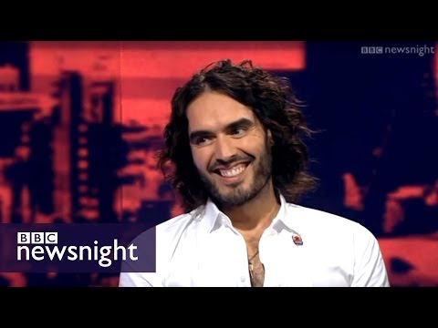 Russell Brand on corporations 9/11 and media manipulation