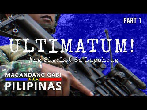 Magandang Gabi Pilipinas: Ultimatum! Ang Sigalot sa Lupahsug | Sulu Province (Part 1)