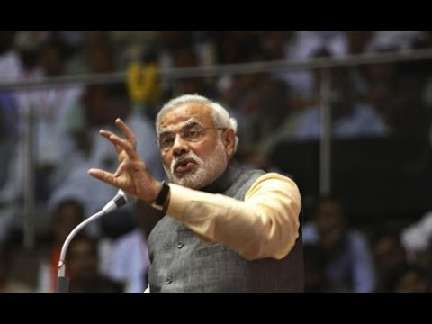 Narendra Modi s fierce attack after  RSVP  jibe 21 April 2014 11 AM