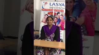 Lasya Infotech-bringing innovation to training!