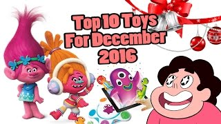 Top 10 Toys in December 2016