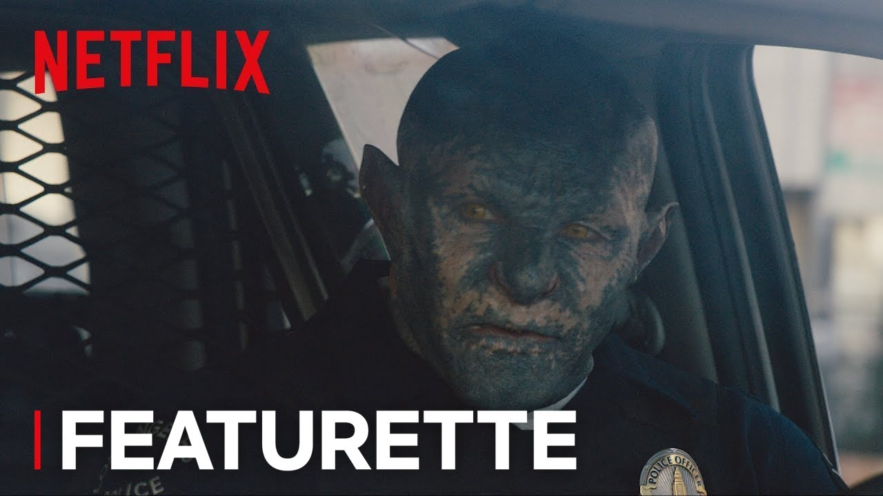 Will Smith & Joel Edgerton Experience a new World in Netflix's Sci-Fi Crime Fantasy 'Bright' (Featurette) with Noomi Rapace