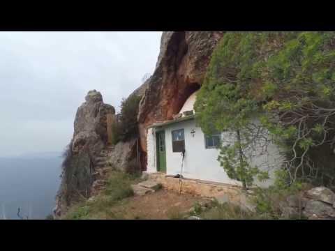 Путешествие в пещерку афонского старца Иосифа Исихаста