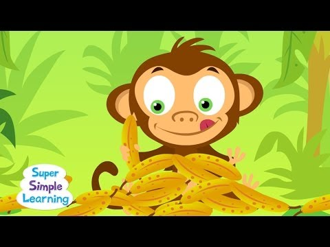 SIMPLE - Practice counting to 20 with the Super Simple Song, Counting Bananas! Subscribe: http://www.youtube.com/subscription_center?add_user=supersimplesongs Get fre...