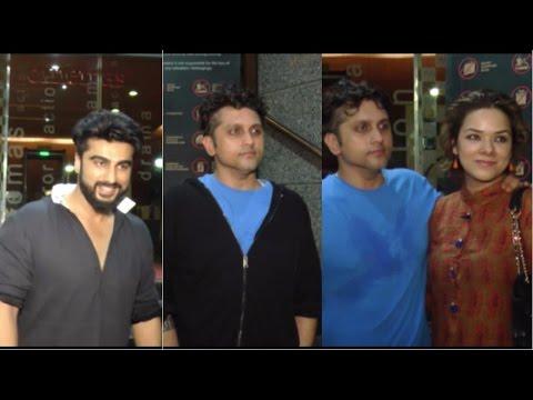 Arjun Kapoor & Mohit Suri At Screening Of Film Half Girlfriend Spotted At PVR