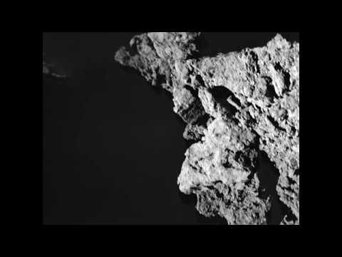 Images from Hayabusa2's MASCOT lander