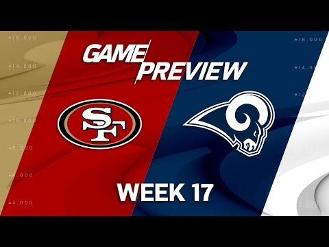 Video: San Francisco 49ers vs. Los Angeles Rams | NFL Week 17 Game Preview | Move the Sticks