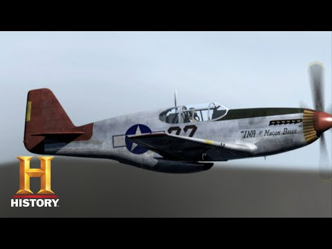 The First Tuskegee Ace of WWII | Dogfights | History