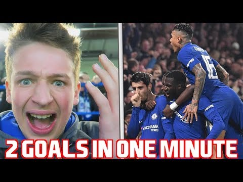 CHELSEA Vs BOURNEMOUTH - VLOG - 2 GOALS IN EXTRA TIME!!!!