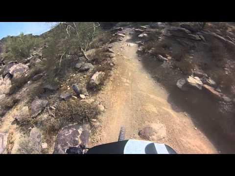 Bombing the waterfall national trail south mountai (видео)