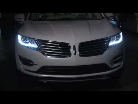 2015 Lincoln MKC production version presentation