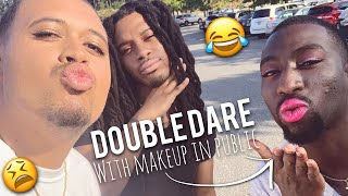 Double Dare Makeup Challenge