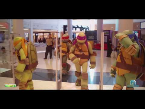 TMNT take over City Centre Muscat!