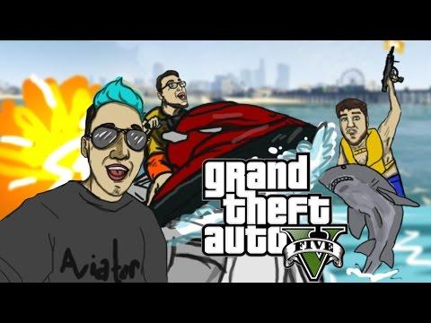 Hood Boyz   GTA V Funny Moments