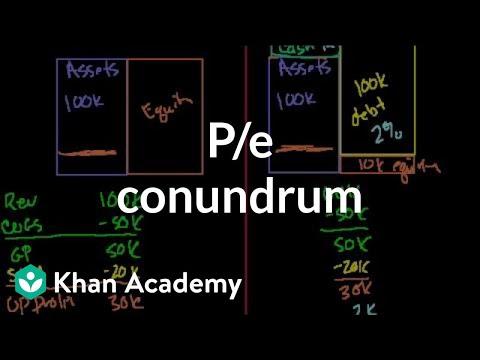 P/E Conundrum