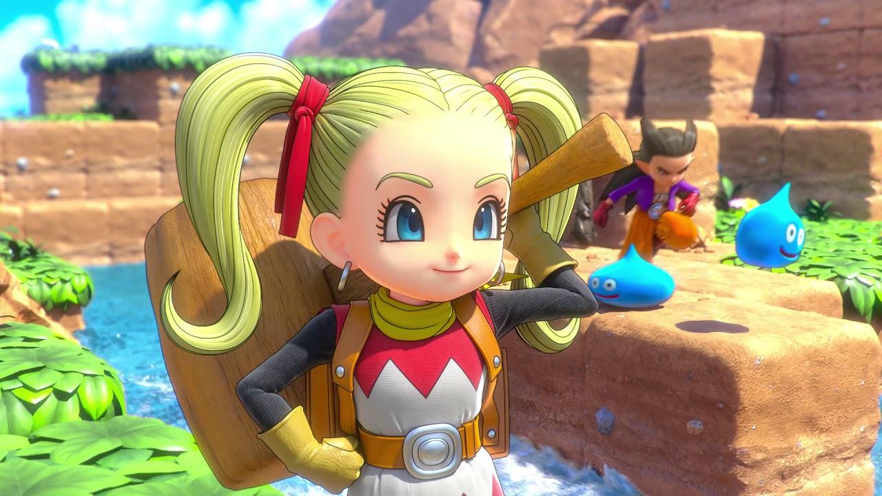 PS4《勇者斗恶龙 创世小玩家2 破坏神席德与空荡岛》发售日期公布・女孩篇