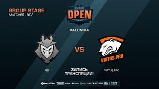 G2 vs Virtus.pro - DreamHack Open Valencia 2018 - map2 - de_dust2 [SSW, Anishared]