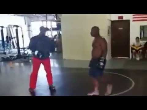 Guy off the Street Walks into a MMA Gym and Challenges a Fighter. Watch What Happens Next