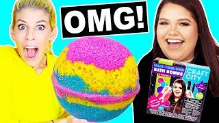 Video DIY Giant Bath Bomb with Karina Garcia Bath Bomb Kit! *Satisfying* MP3, 3GP, MP4, WEBM, AVI, FLV Maret 2018