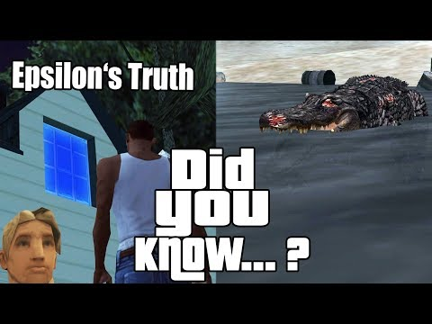 GTA San Andreas Secrets and Facts 15