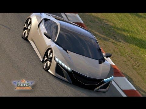 New Honda NSX Concept - Tony Stark Drives One