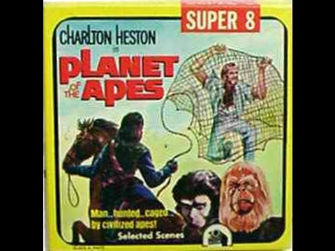 Vintage Planet of the Apes Super 8  with sound (видео)