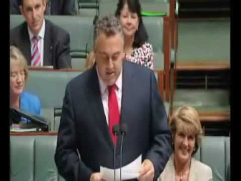 Question of the Day: Joe Hockey to PM Kevin Rudd