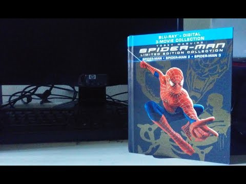 PRLostGalaxy2014 Blu-ray Review: Spider-Man (Sam Raimi Trilogy) Limited Ediition Collection (видео)