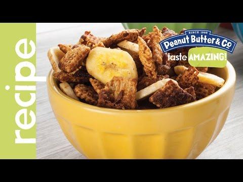 Peanut Butter Banana Bacon Chex Mix Recipe