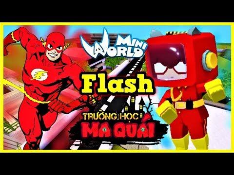 TRƯỜNG HỌC MA QUÁI:-tập 11- 1 ngày làm The Flash   Thử thách làm nhân viên giao hàng cho quán gà KFC - Thời lượng: 14 phút.