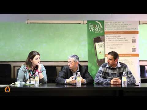 Presentación de la app Linea Verde.