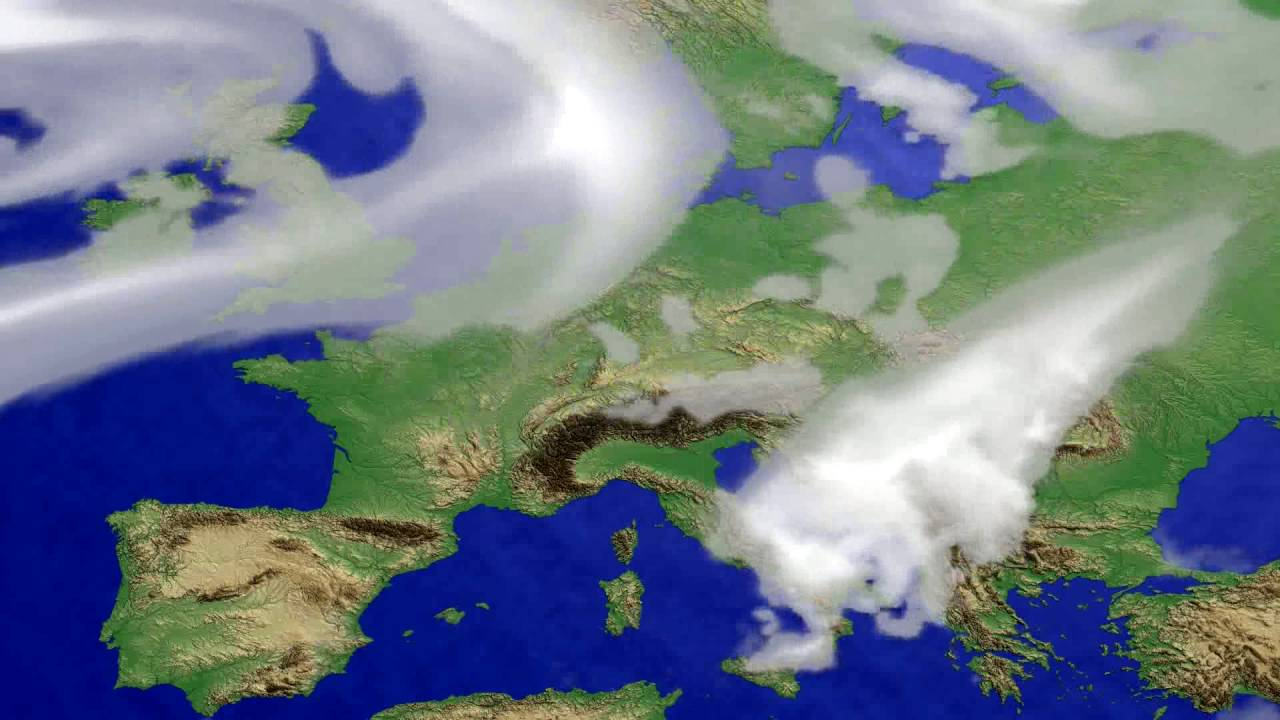 Cloud forecast Europe 2016-07-13