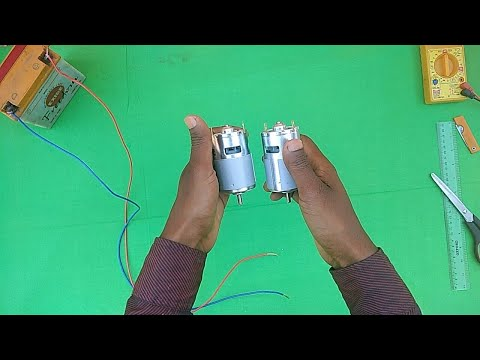 RS 775 12 VOLT DC MOTOR UNBOXING AND REVIEW
