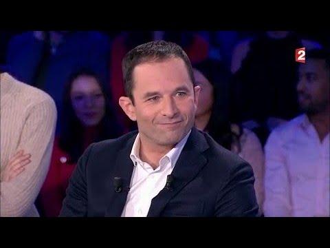 Benoit Hamon - On n'est pas couché 13 janvier 2018 #ONPC
