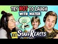 foto Try to Watch This Without Laughing or Grinning WITH WATER!!! #4 (ft. FBE STAFF)