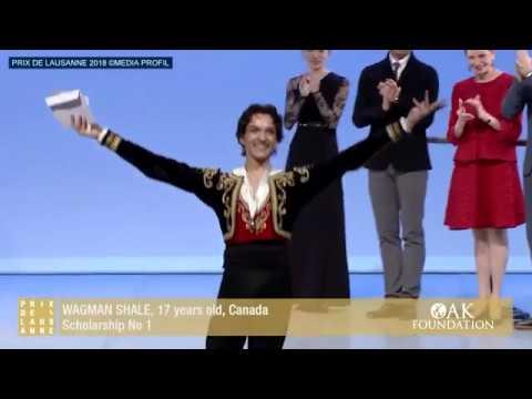 Danse : Prix de Lausanne 2018