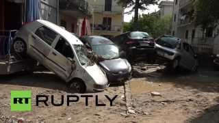 Rossano Italy  city photos gallery : Italy: Flash floods cause major destruction in Rossano