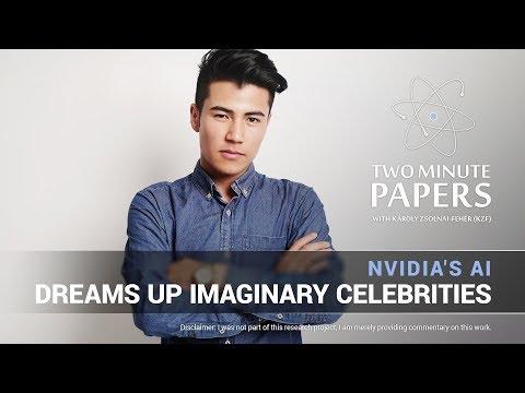 NVIDIA's AI Generates Imaginary Celebrities