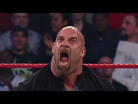 GOLDBERG RETURNS ON MONDAY NIGHT RAW WWE 7/15/2013