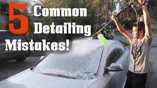 5 Things To Avoid Doing While Cleaning Your Car! by Ignition Tube