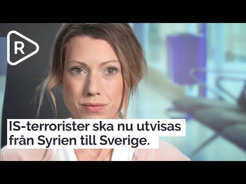 IS-terrorister ska nu utvisas från Syrien till Sverige.