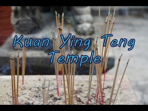 Visiting Kuan Yin Teng Chinese Taoist Temple in George Town, Penang