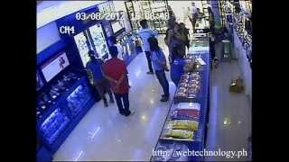 Dumb Robbers Caught Stealing On A CCTV Store. Robbers Faces And Activities Caught In Every Angle. 1